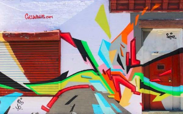 Dodsworth Street Mural