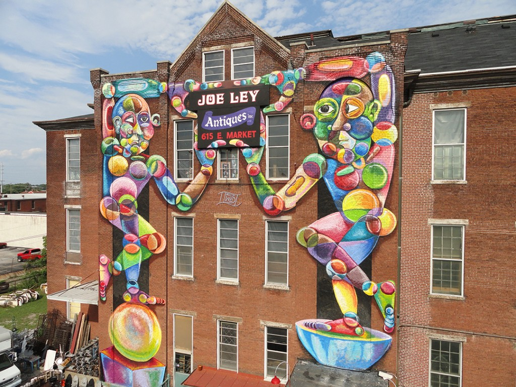 Joe-Ley-mural-2012 - LOUISVILLE , KY